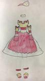 スタバァパフェイメージドレス