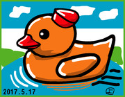 ウェザーニュース、ソライブ美術館5月17日分:お題「鳥」