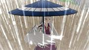 雨の日のサグメ様