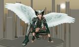 DC : HawkGirl -Kendra Saunders (Earth 2) -001