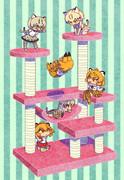 ネコ科タワー