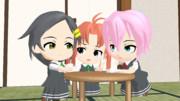 【艦これ】三姉妹の日常1【MMD】