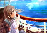 豪華客船で旅行したい