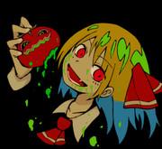 トマトを食すルーミア