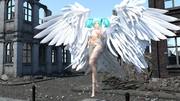 戦場に舞い降りた天使