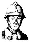 WW1のフランス兵おじさん