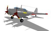 伍長式二式複座戦闘機『屠龍』甲型MMDモデル配布