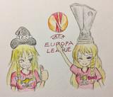 ヨーロッパリーグ優勝を成し遂げ歓喜するSZ姉貴とマンUDK
