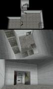 コンクリ壁の地下室・拡張【MMDステージ配布】