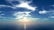 【MMDステージ配布】たなびく雲の空 TS9【スカイドーム】