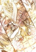 皇帝と王子と女神