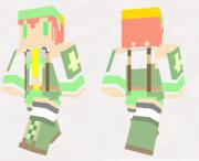 【minecraft】アロエスキン(サンプル)