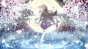 桜色の海を泳いで