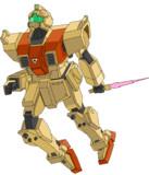 陸戦型GM(ジャンプ+ビームサーベル?)