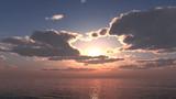 【MMDステージ配布】安らかな夕空 TU1【スカイドーム】