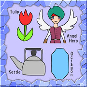 TAKO (Tulip, Angel-hero, Kettle, Octagon)