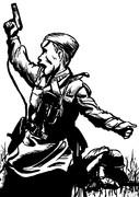ソ連軍政治将校アレクセイ・エリョーメンコ
