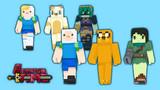 【Minecraftスキン】アドベンチャー・タイム