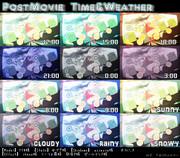 PostMovie改変 Time&Weather