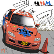 R.C.MICRO MOUSE MAPPY RX-8