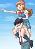 MINAYO隊長と三平くん