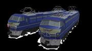 【MMDモデル配布】EF66電気機関車