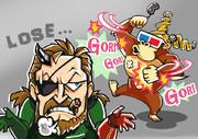 『MGSV: GROUND ZEROES』LOSEイラスト