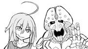 星輝子誕生日 with 漫画版メ・ギノガ・デ