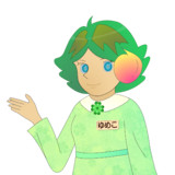 JR8DAGのAM & QRP ホームページのイメージキャラクターのゆめこ(夏服(2))