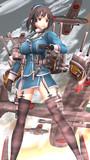 近藤中将麾下の第四戦隊に所属して、数々の海戦に参加しました