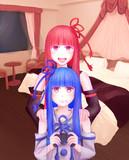 ゲーム実況で夜更かし姉妹