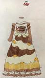 モーレツ宇宙海賊のランプ館のチョコパフェをドレス化