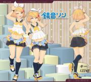 鏡音リン ver3.20【モデル配布】