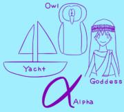 YOGA(Yacht, Owl, Goddess, Alpha)