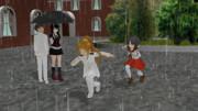 雨の日こそ走りましょう!!