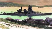 休息の戦艦「榛名」