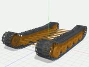 【MMD陸軍】 ティーガーII自動回転履帯1.0