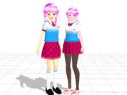 【すいまじ】ナミちゃん Ver.1との比較【貨客船娘】