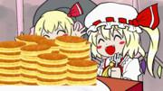 動くパンケーキ