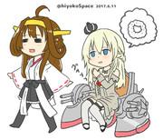 Warspiteと金剛さん