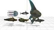 MHmodel tri fish