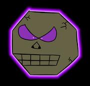 八角形のドクロ