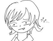 神楽坂さんのイラストを小松未可子が描いてみた