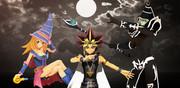 【MMD】王と魔術師【遊戯王】