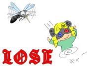 『蚊』LOSEイラスト