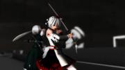 武器交換椛・妖夢