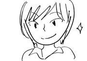 神楽坂さんのイラストを木戸衣吹が描いてみた