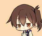 【GIF】うとうと加賀さん