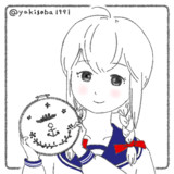 手芸と磯波ちゃん