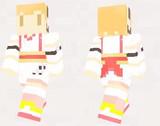【minecraft】アプリコット スキン(サンプル)